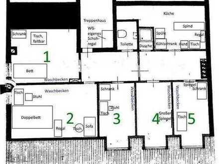 Ruhiges 9m² - WG Zimmer in 70m² - Wohnung in Fakultätsnähe(3) - Female-only-flatshare/Frauen-WG