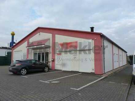 Gewerbegrundstück mit moderner Halle in attraktiver Lage von RE-Süd ++für Handel/Vertrieb geeignet++