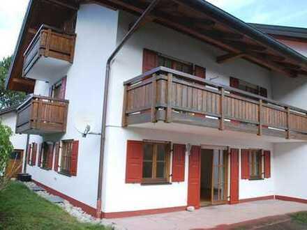 Den Bergen so nah! Doppelhaushälfte in Unterammergau zu vermieten!