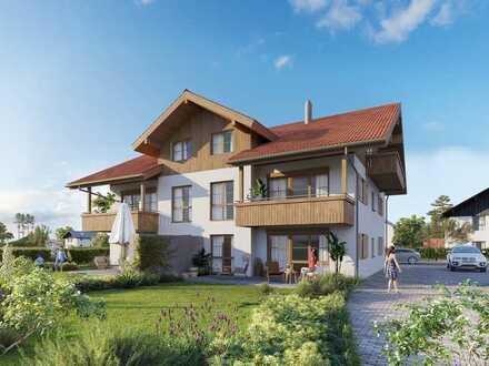 Charmante 3-Zi.-Wohnung in schönem Landhaus mit ~92m² Garten in der Region Königswinkel