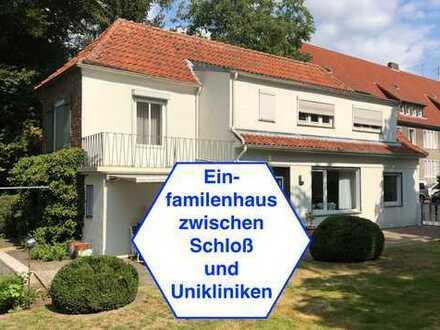 Schönes, geräumiges Haus mit fünf Zimmern in Münster, Schloßbezirk
