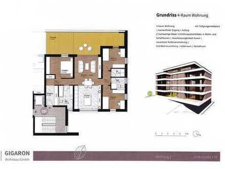 *Neubau* hochwertige 4-Raum-Wohnung für 2.080 €/m²