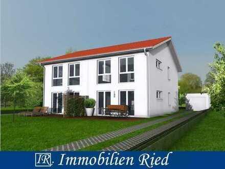 Neubau einer modernen Doppelhaushälfte in sonniger und absolut ruhiger Bestlage in Penzberg.