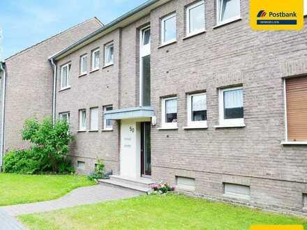 MG-Waldhausen: Sanierte 3-Zimmer-Eigentumswohnung mit Balkon in gepflegtem 4-Familienhaus