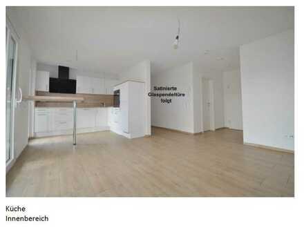 Exklusive, geräumige und neuwertige 1-Zimmer-Wohnung mit Terrasse und EBK in Ettenheim