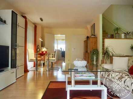 Ihre Ruheoase an der Wertach – Moderne Maisonette Wohnung inkl. Mobiliar und TG-Stellplatz