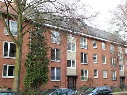 Eigentumswohnung: Endetage, 3 Zimmer, großer Balkon in gefragter und ruhiger Lage! Hamburg – Barmbek