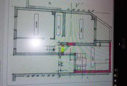 119qm-Haus BINGEN 4er WG je Zimmer 18qm + ein möbl. Wohnzimmer mit TV, -650 Meter zur FH
