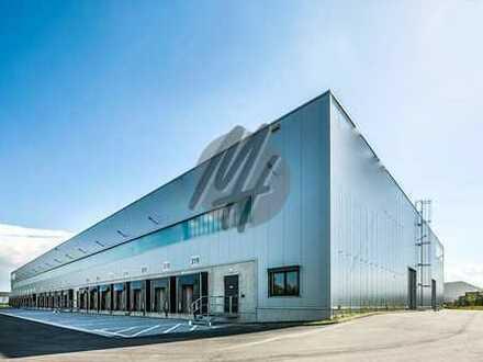NEUBAU ✓ RAMPE + EBEN ✓ Lager-/Logistikflächen (6.000 m²) & Büroflächen (700 m²) zu vermieten