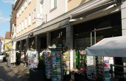 Laden in Fußgängerzone
