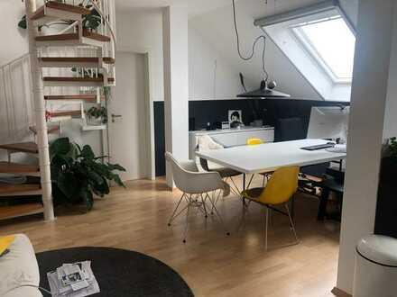 Moderne Galeriewohnung im Herzen Neckaraus
