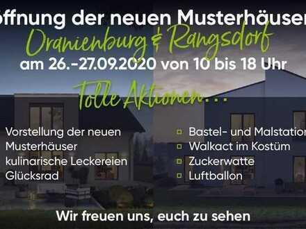 Musterhaus NEUERÖFFNUNG 26.9. & 27.9. bei MASSA HAUS in Rangsdorf, Kienitzer Straße 97-98