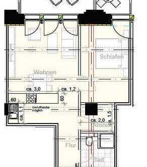 Wohnen im Magazingebäude am Phoenixsee - 2 Zimmer mit EBK 69qm