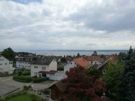 Gepflegte 3-Zimmer-DG-Wohnung mit Seesicht in Meersburg