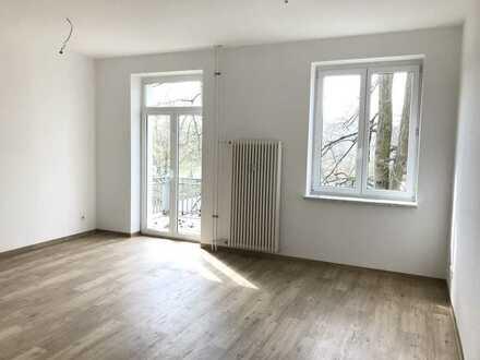 Wohnen im schönen Neuruppin  2 Zimmer, Balkon, Keller, 1.Etage