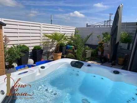 Traumhafte Maisonettewohnung in Germering++mit großer Dachterrasse und Whirlpool++ideal für Pendler