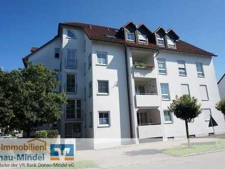 Schöne Zwei-Zimmer-Wohnung in Lauingen zu vermieten