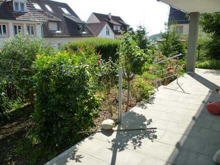 3-Zimmer-Erdgeschosswohnung mit Terrasse und Garten in Inzlingen