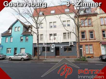 Große 3-Zimmer Wohnung mit ca.91m² - neu renoviert - zentral in Ginsheim-Gustavsburg