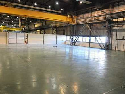 Produktionshalle mit Büro im ITC Industrie- und Technologiepark HECKERT