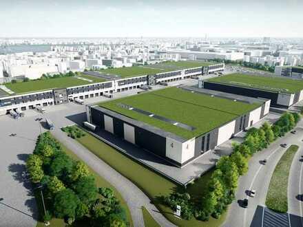 Projektierte Lager-, Produktions- und Hallenfläche mit direktem Autobahnanschluss