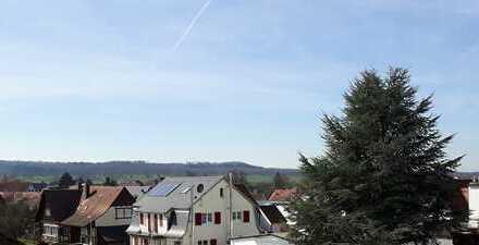 Sonnige 3 1/2 Zimmer Dachgeschosswohnung in zentraler Lage von Altdorf