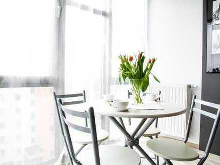 Repräsentatives Café mit großen Fensterflächen und Außenbereich * Erstbezug