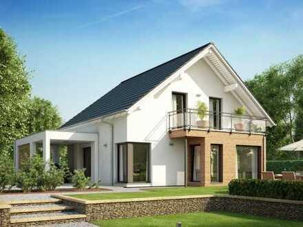 Helles Haus mit Wintergarten