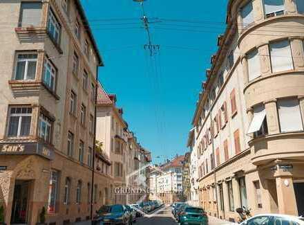 3-Zi. Whg mit Balkon mitten im Kultviertel Stuttgart-West