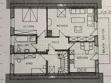 Erstbezug nach Sanierung mit Balkon: freundliche 3-Zimmer-Wohnung in Reken