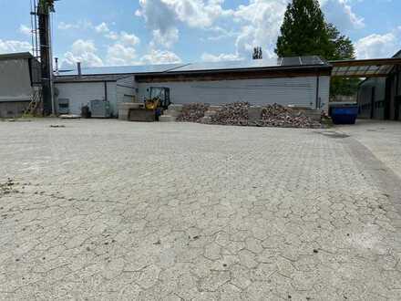 250 qm Lagerplatz zu vermieten
