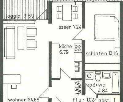 Für Kapitalanleger: 2,5-Zimmer-Wohnung mit Balkon in Nürtingen