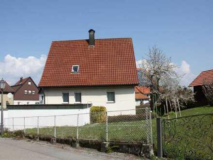 Wohnen unterm Rosenstein- Einfamilienhaus in Heubach