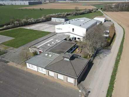 Vielseitig nutzbares Gewerbeobjekt mit Büro- und Lagergebäude in Kleve-Kellen