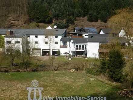 Lager-. Ausstellungs- und Produktionsgebäude mit Zweifamilienhaus in der Südwestpfalz