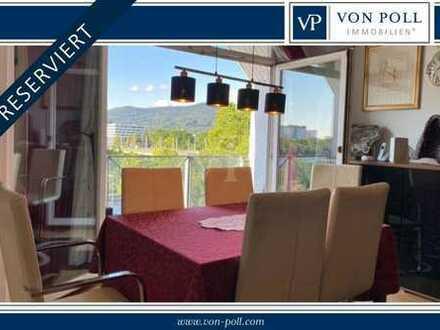 RESERVIERT:Traumhafte Maisonettewohnung mit Blick auf den Neckar in Heidelberg/Bergheim