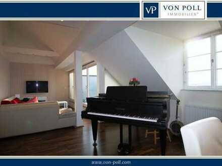 Luxus Eigentumswohnung mit Aufzug und Burgblick