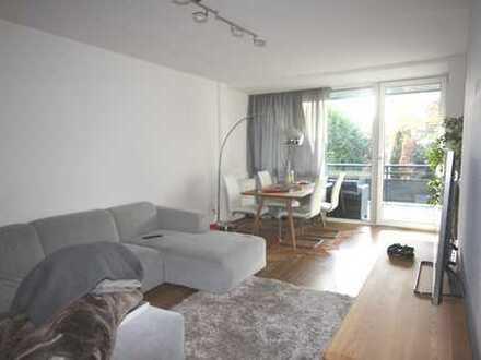 Düsseldorf-Heerdt: moderne 3-Zimmer-Wohnung mit großem Balkon