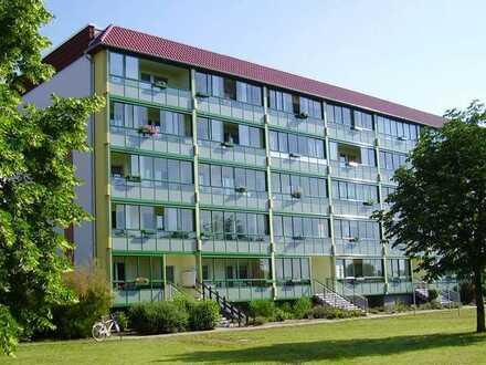 günstig und zentrumsnahe, verglaster Balkon