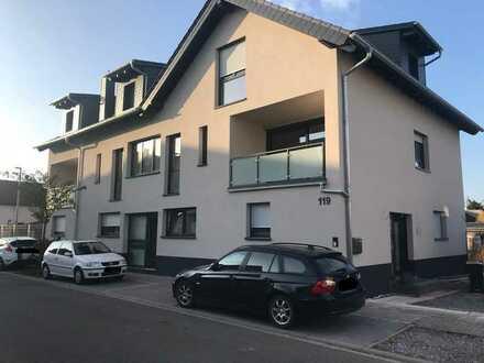Neuwertige, 2018 fertiggestellte 4-Zimmer-Maisonette-Wohnung mit Balkon/Loggia in Haßloch