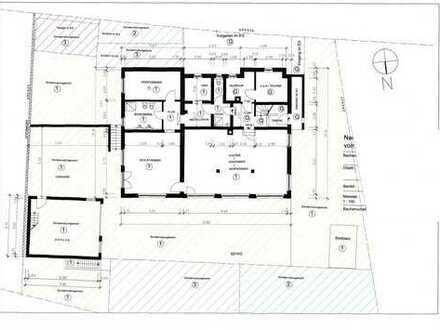 Ebenerdige Loftwohnung-400 m² Terrasse-Doppelgarage-Stellplatz-Nebengebäude