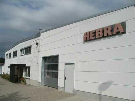 Produktionshalle mit Lagerkapazität und Büroräumen im Gewerbegebiet von Sulzbach-Rosenberg