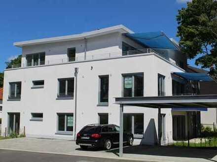 Barrierefreie exklusive 3-Zimmer-EG-Wohnung mit Gartenanteil im Neubauobjekt