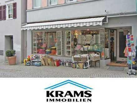 Direkt neben Marc O´Polo und New Yorker! Kompakte Ladeneinheit in der Tübinger Altstadt!