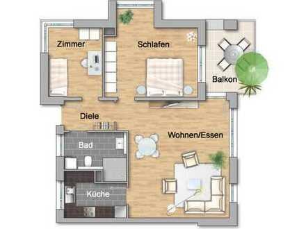 Letzte Wohnung :: großzügige 3-Zimmerwohnung im Betreuten Wohnen