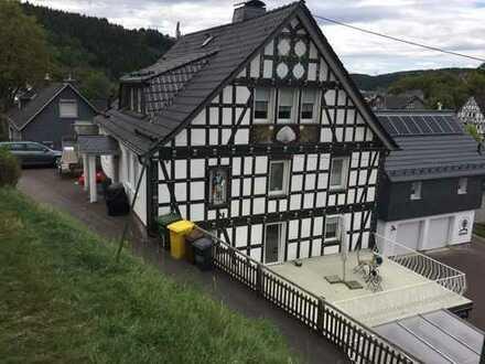 Fachwerk Smarthaus mit sep. Eingang und Garage und EBK in Netphen - Marktplatz