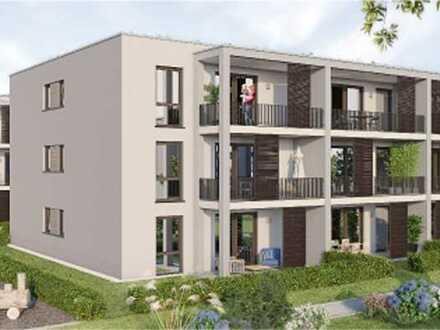 Erstbezug mit Einbauküche und Balkon: exklusive 2-Zimmer-Wohnung in Emmendingen Kollmarsreute