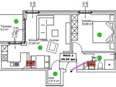 Erstbezug, barrierefrei mit EBK und Terrasse: exklusive 2-ZKB EG, Ibbenbüren, Poststrasse