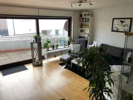 Gepflegte 2-Zimmer-Wohnung mit großem Balkon in Neuhausen auf den Fildern