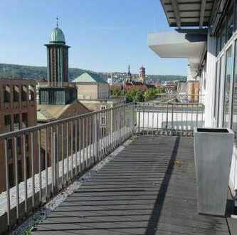 Exklusive Penthouse-Wohnung in der Stuttgarter City